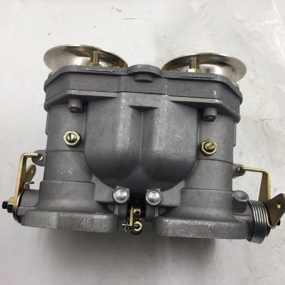 SHERRYBERG 46mm 46IDF prąd zstępujący Carb gaźnika przedłużony paliwa miska dla weber dziesięć lat empi 44