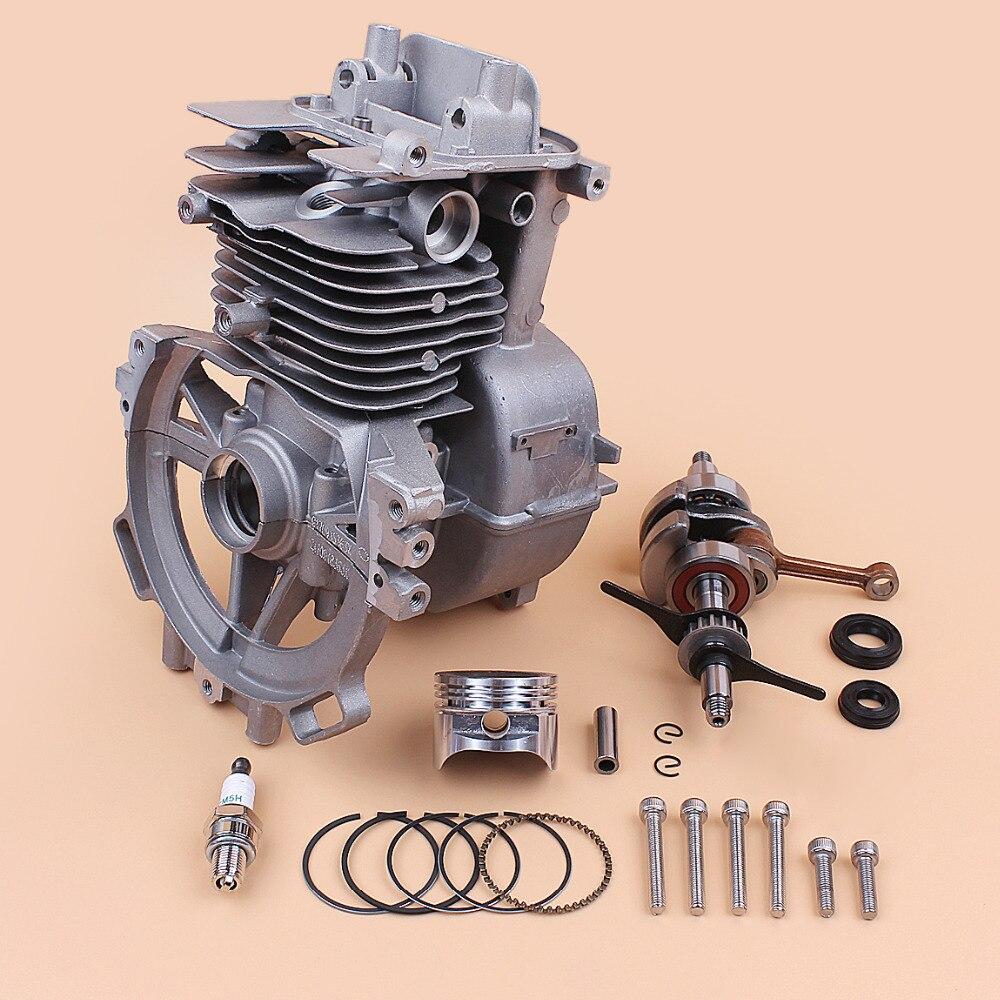 Здесь можно купить  39MM Motor Cylinder Crankcase Crankshaft Piston Kit Fit HONDA GX35 GX35NT 35.8cc Gas Small Engine Trimmer Brushcutter Lawnmower  Инструменты