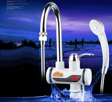 SBD3000W-23,Digital Display Instant Hot Water Tap Electric Shower,Tankless Electric Faucet,Digital Bathroom Heater