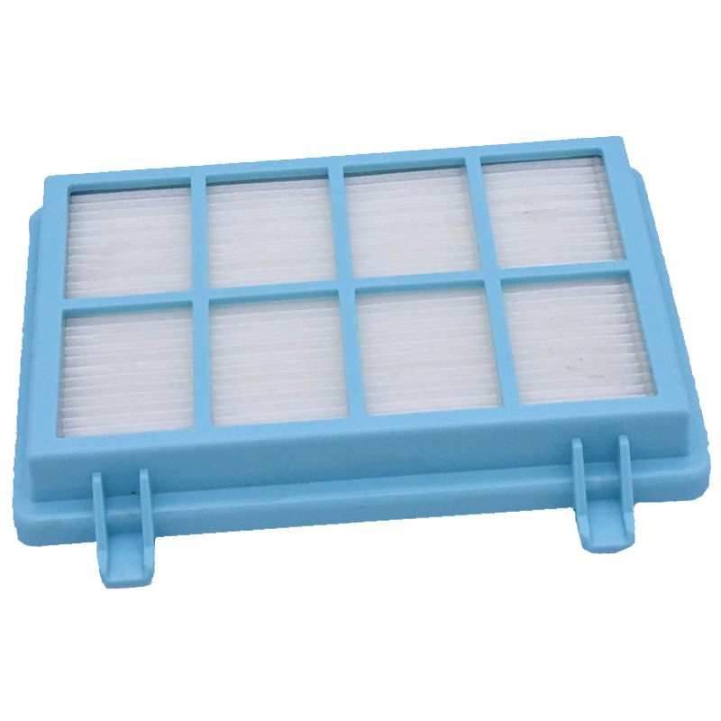 1 Pc Hepa Filter Parts For Philips Power Pro Compact FC9331/09 FC9332/09 FC8010/01 Vacuum Cleaner Accessories Post Blue Filters