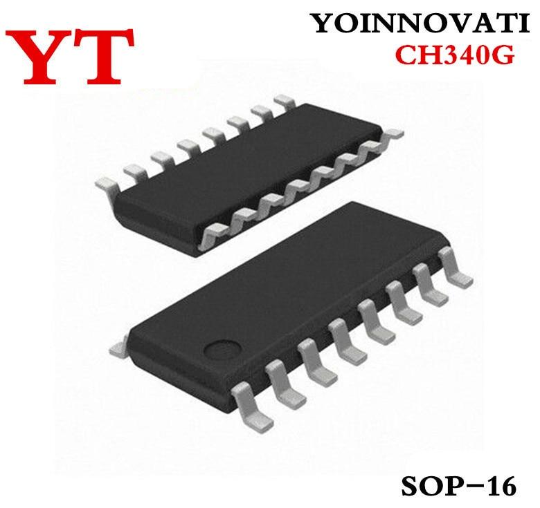 10 шт./лот CH340G CH340 340G SOP16 IC.