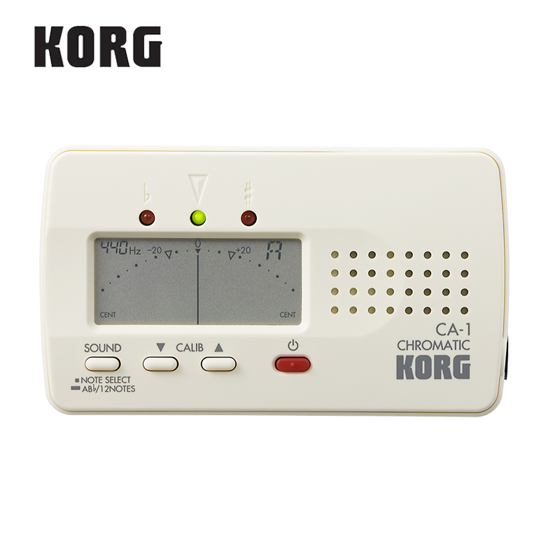 KORG Korg CA2 Compact Chromatic Tuner Bass/Saxophone/ Violin/ Flute Tuner Universal Tuner [ideal for brass band or orchestra]