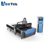 Jinan Factory directly supply Raycus source 1300*3000mm metal aluminum laser cutting machine/300w 500w fiber laser cutter