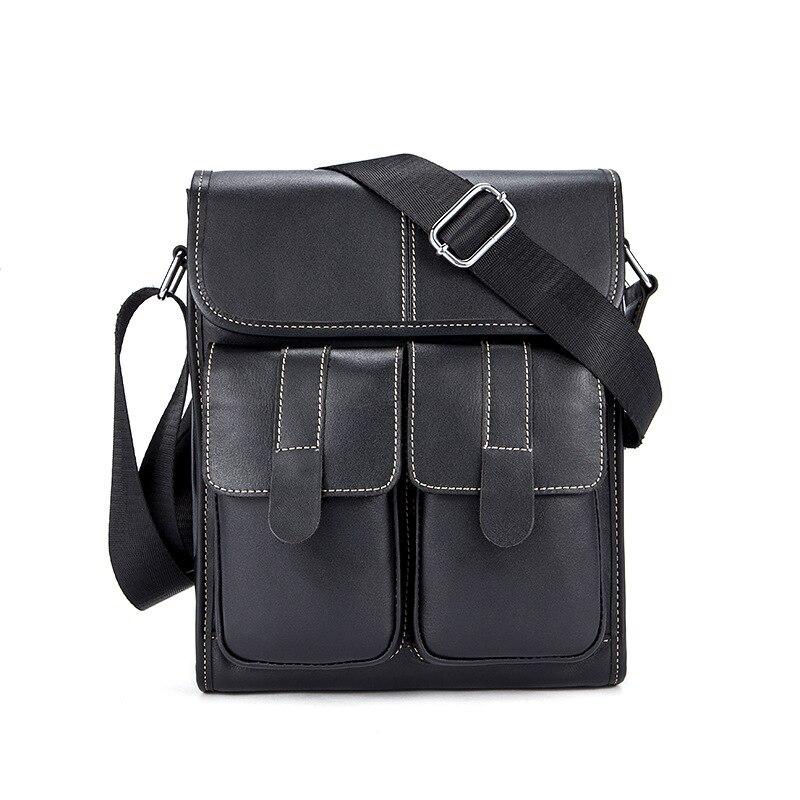 famous brand bag men messengerbags men' s men's one-shoulder bag, shoulder bag, casual, baotou, man bag luggage tag 2