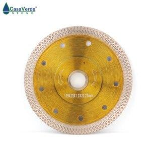 "Image 2 - Free shipping 115mm (4.5"") circular saw blade for porcelain Diamond cutting blade"