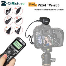 Pixel TW 283 Shutter Release Wireless Timer Remote Control For Sony A6000 A58 A7 A7R A7M3 A3000 HX300 HX50 HX400 HX60