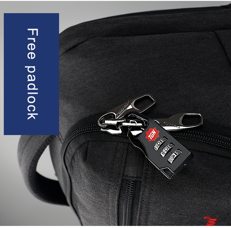 moda usb carregador masculino mochila 15.6 polegada