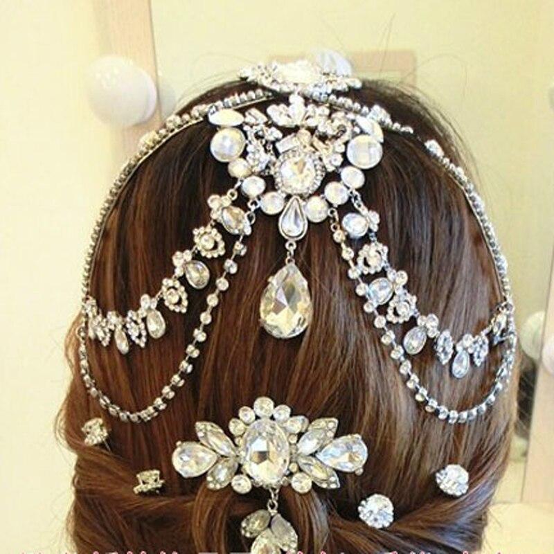 Flower Hair Clip Comb Pin Women Girls Bridal Wedding