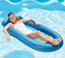 Floating bed floating row swimming air adult inflatable carpet Air Mattresses