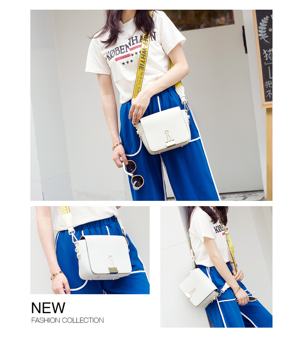 HTB1dPoCKXuWBuNjSszbq6AS7FXaC 2018 Fashion Bag for lady Off White Bag