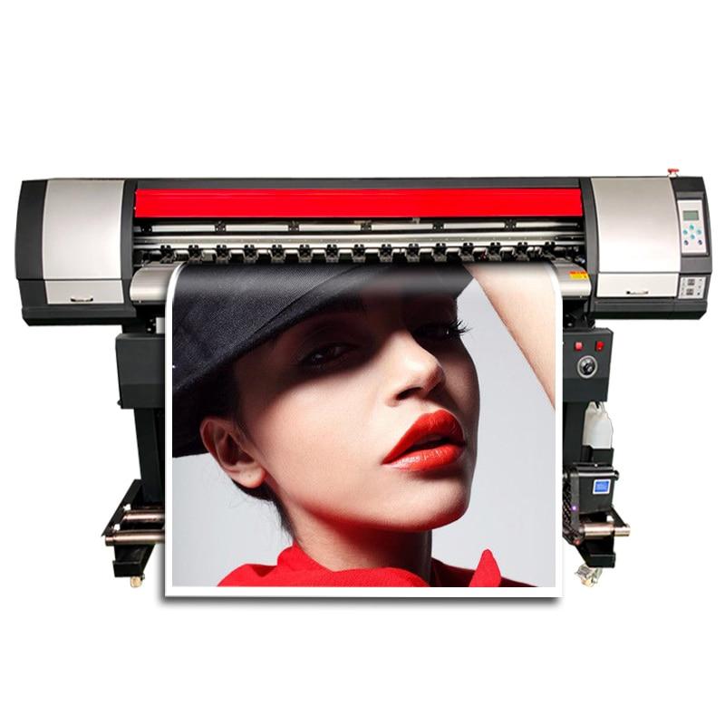 1.8m Large Format Printer Single XP600 Print Head High Resolution 1.8m Printer Solvent Free Sea Shipping