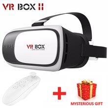VR BOX II 2.0 Version Google cardboard  VR Glasses Virtual Reality 3D Glasses  Smart phone+Bluetooth Remote Controller
