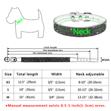 Didog Soft Suede Leather Puppy Dog Collar Adjustable Rhinestone Cat Pet Pink Collars Suit Small Medium Pets XS S M Chihuahua