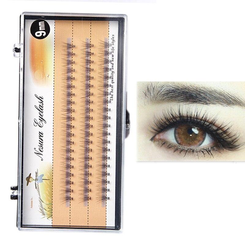 10/11/12/13mm Natural Long Individual Eye Lash Extensions False Eyelashes GIFT