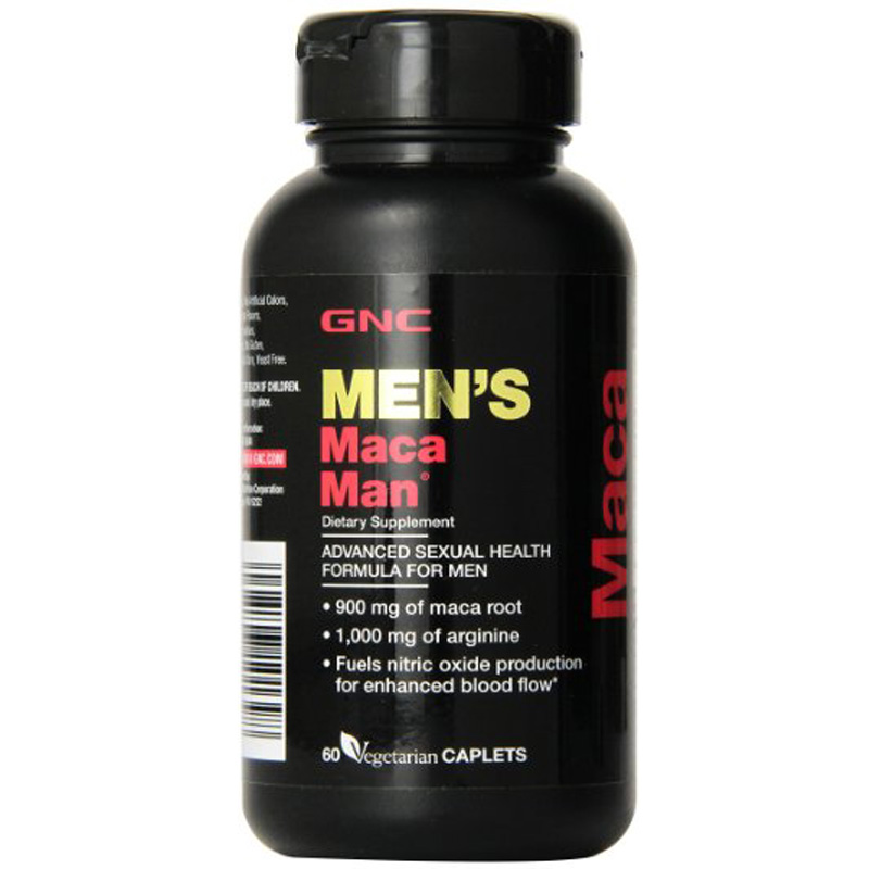 American origin Men's Maca Man 60 each free shipping Advanced Sexual Health Formula For Men Supports blood vessel tone by health 1220mg 60
