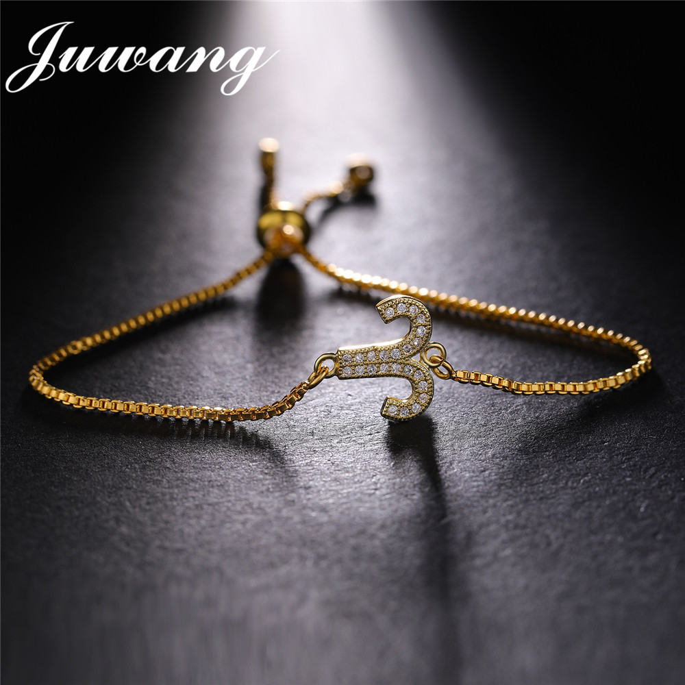 JUWANG bélier zircon cubique 12 étoiles zodiaque Constellation Bracelets & Bracelets Horoscope astrologie disque galaxie bijoux cadeau