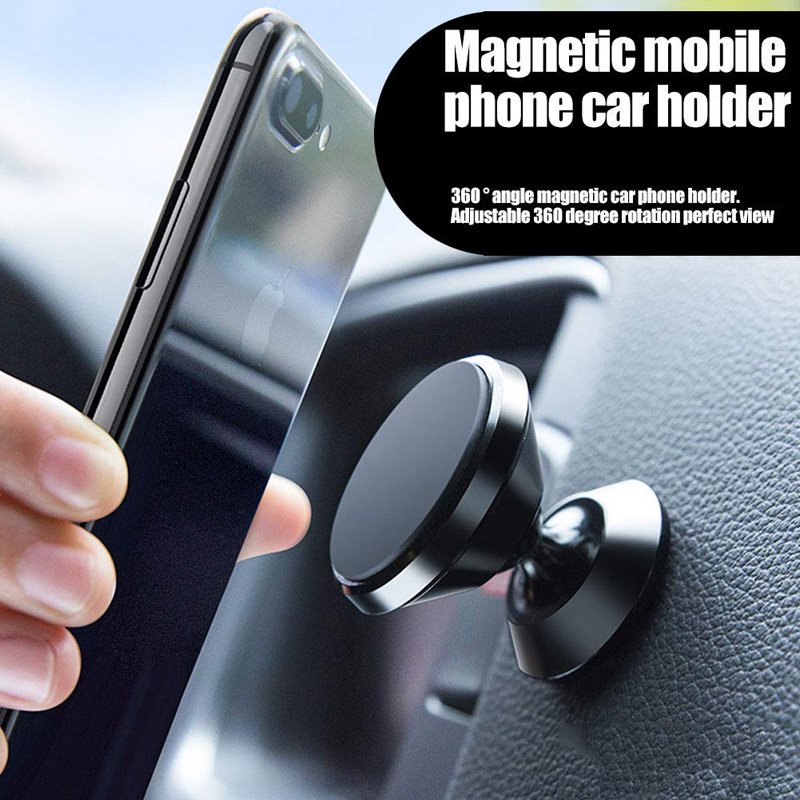 Universal Magnetic Car Phone Holder Air Vent Mount Magnet Cell Phone Stand For IPhone X 8 7 9 XS Max Samsung Note 8 9 S10 S9 S8