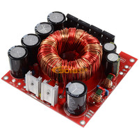 500W Single DC DC12V Positive And Negative Double DC 45V Boost Power Supply Board Adjustable Pressure