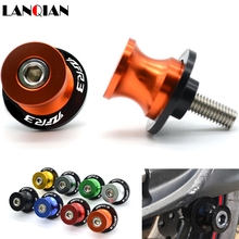 For R3 Motorcycle Stands Aluminum Swingarm Spools Slider Stand Screws  For yamaha YZF R3 1998-2018 yamaha ws 865a 800 series tom stand for yess