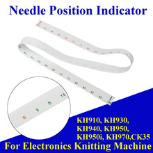 Sewing Needle Position Indicator Ruler for Brother For Electronics Knitting Machine KH940 KH950 KH970 CK35 Hand Tools Spare part
