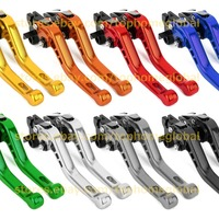 For Vespa Drum Brake 50-125/PV/ET3/PK/S/XL, 125 VNA-TS, 150 VBA-T4, 160GS, 180SS Short 3D Clutch Brake Levers CNC Adjustable