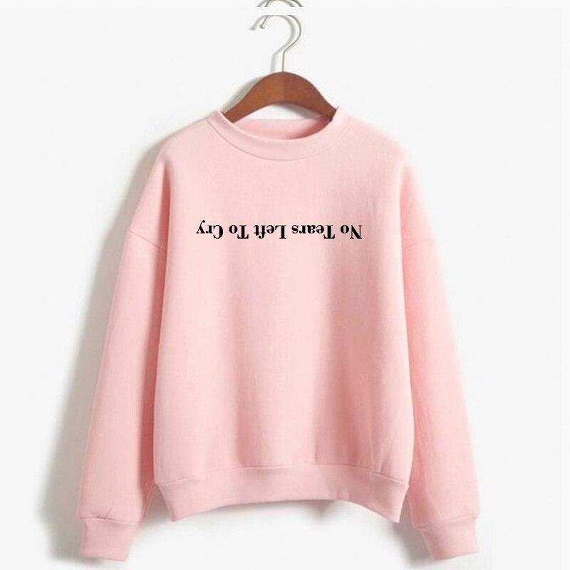 Ariana Grande Sweatshirt Keine Tränen Links Zu Cry Hoodie Frauen Print Harajuku Gott Ist EINE Frau Sweatshirts Pullover Cewneck Warme tops