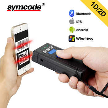 Symcode 1D 2D Bluetooth Barcode Scanner 1D 2D USB Bluetooth 2.4GHz Wireless Barcode Reader Wireless Transfer Distance 100 Meters - DISCOUNT ITEM  10% OFF All Category