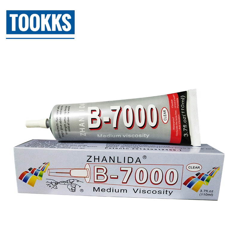 15ml/25ml/50ml/110ml B7000 Industrial Strength Super Adhesive Clear Liquid Touch Screen Cell Phone Super glue