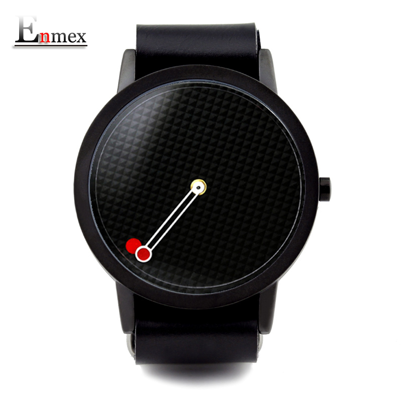 2017 men gift Enmex brief design removable strap geometric designs Floating pointer 3D dail with  young fashion quartz watches 2017lady gift enmex design silicone strap creative changing patterns dail japanese style simple quietly elegant quartz watches