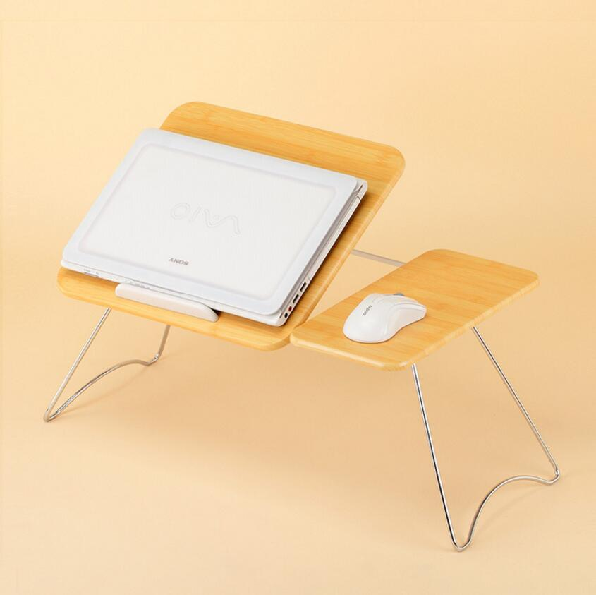 buy portable folding laptop table picnic folding table laptop bed table stand computer notebook bed desk tray se22 from reliable tray