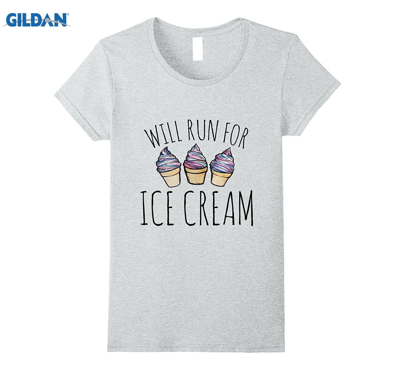 Возьмите будет для Мороженое рубашка Мороженое бегунов футболки платье женские футболки  ...