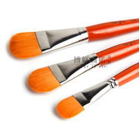 Hot Sale 3 Set Artists Nylon Paintbrush For Painting Drawing Art Supplies For Artists School Specifically