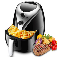 5L Air Fryer Household Intelligent No Oil Fumes High Capacity Electric Fryer French Fries Machine Potato Chips Frying Machine