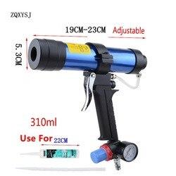 ZQXYSJ 310 ml cartucho pistola de pintura y decoración neumática pistola de vidrio pegamento de goma de aire herramientas Herramientas de acabado sellador