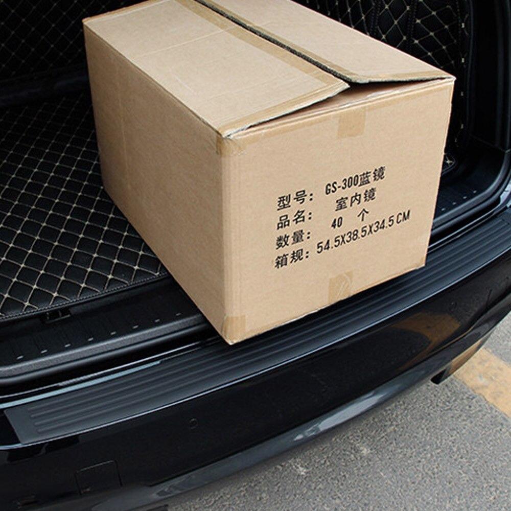 Автомобильный Стайлинг багажник резиновый Задний защитный бампер, протектор Накладка для KIA Toyota BMW Chevrolet Mazda Audi сиденье для автомобилья Лада ...
