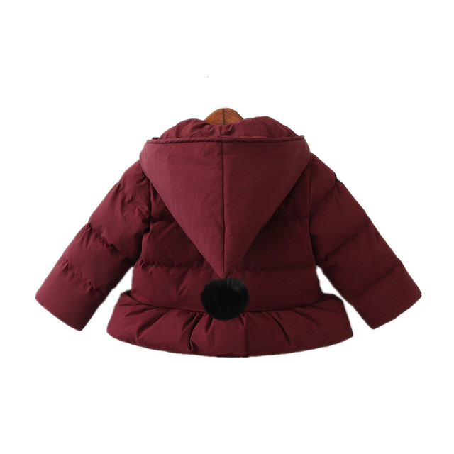04281c57013f girl spring jacket red hooded kids jacket for girl outerwear winter ...