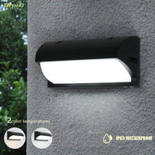 Oreab 10W Decorative Led Outdoor Wall Light Light Control Sensor Wall Mount Exterior Step Light Fixtures Lamp Sconce Lighting(China)