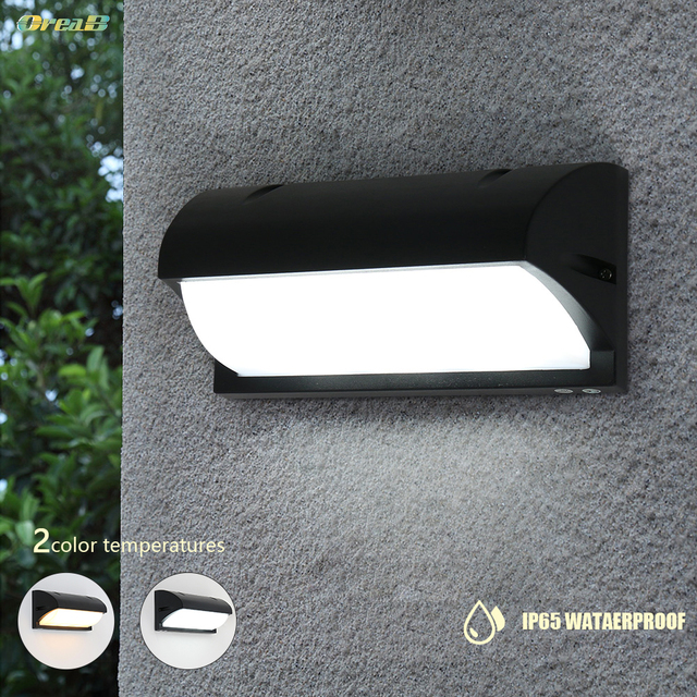 Oreab 10W Decorative Led Outdoor Wall Light Wall Mount Exterior Step Light Fixtures Lamp Sconce Lighting Warm / Cold White