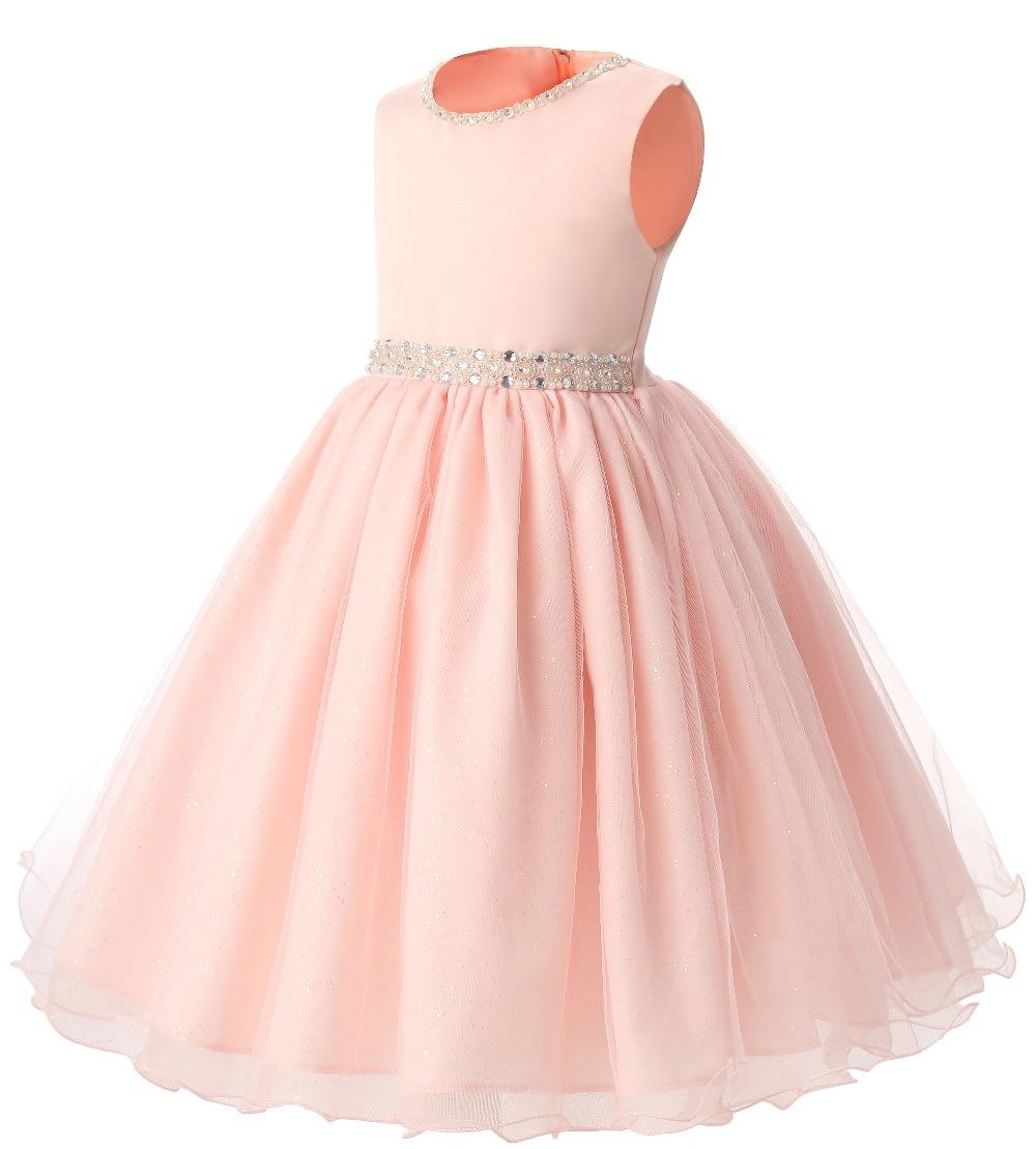Increíble Vestidos De Partido De La Princesa Para Los Niños Pequeños ...