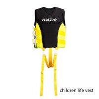 Nieuwe Meisjes Jongens Kids Jeugd Leven Vest Jassen Kinderen Zwemmen Kleding Voor Raften, surfen, Visuitrusting Safey badmode