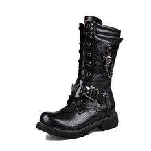 2019 mens Martins boots trade long barrel high Korean version of British size combat Yasilaiya