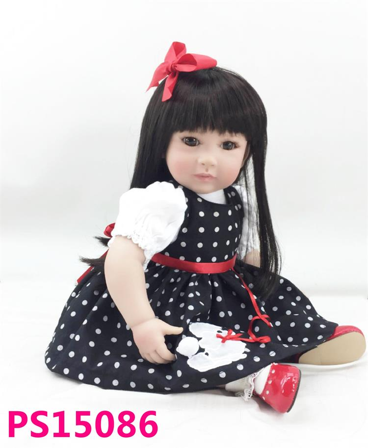 Pursue 24/ 60 cm Collectible Silicone Princess Toddler Babies Doll Reborn Girl Baby Doll Toys Lifelike Vinyl Birthday Gift Doll lifelike american 18 inches girl doll prices toy for children vinyl princess doll toys girl newest design