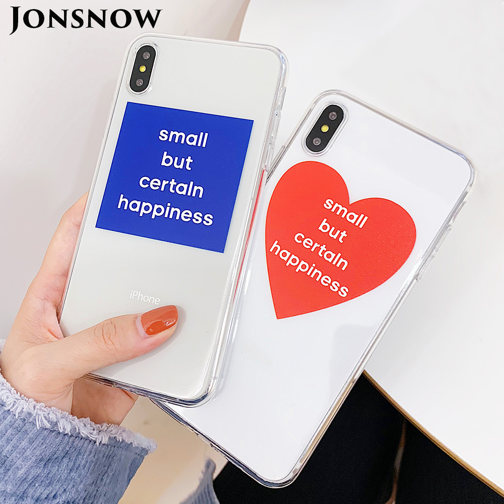 KIPX1107_1_JONSNOW Clear Soft Case for iPhone X XR XS Max 6 6S 7 8 Plus Couples Style Ultra-thin Transparent Silicone Cover Cases