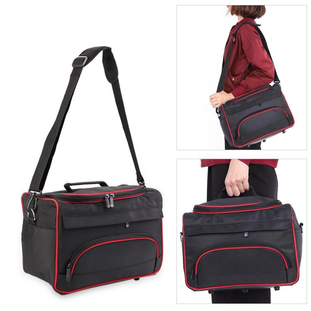 Large Storage Cosmetic Bags Nail Art Gel Polish Bottle Makeup Bag Hairdressing Travel Organizer Toiletry Nail Tools Brush Bag