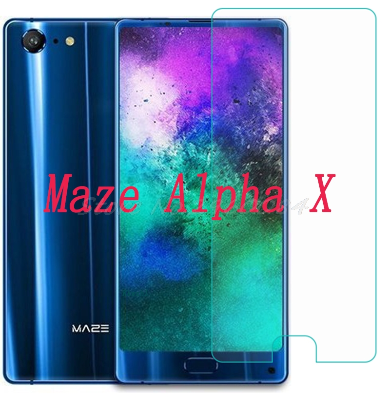 Smartphone Tempered Glass  for Maze Alpha X  Explosion-proof Protective Film Screen Protector cover phoneSmartphone Tempered Glass  for Maze Alpha X  Explosion-proof Protective Film Screen Protector cover phone
