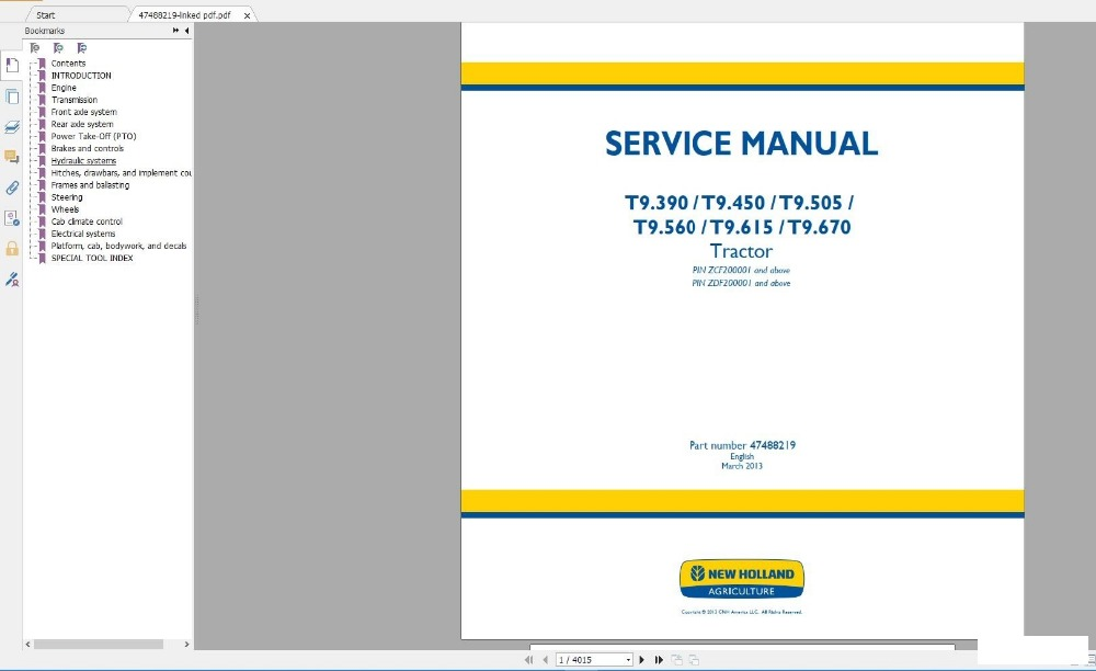 NEW HOLLAND Service Manuals DVD [10.2018] 30GB|Software|Automobiles & Motorcycles - title=
