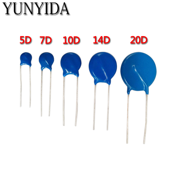 10pcs/lot   Varistor  10D270K 10D330K 10D390K 10D470K 10D241K 10D391K 10D431K 10D471K 10D561K   Free Shippng