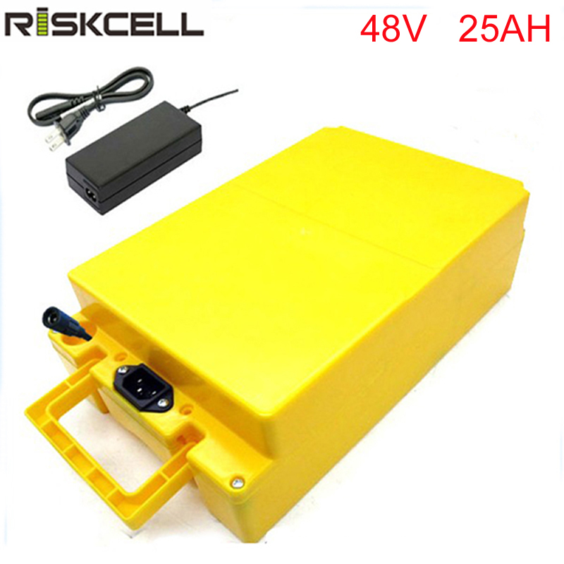 New ebike battery 48V 25Ah electric li-ion battery for 48v 750w 1000w E-Bike Bafang mid drive motor 8FUN Ebike conversion kit rear rack 48v 1000w electric bike battery 48v 25ah lithium ion battery pack fit bafang 8fun motor with led tail lamp charger bms