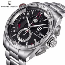 PAGANI DESIGN Luxury chronograph Sports Men s Watch Japanese Movement stainless Steel waterproof Quartz watch Relogio