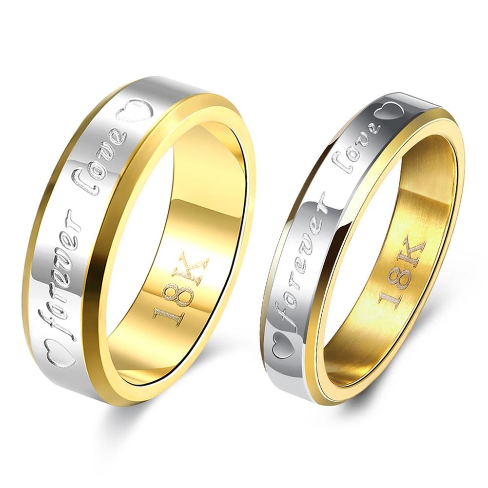Silver Plated Elaborate Design Finger Engagement Ring for Lovers Men Women 2017